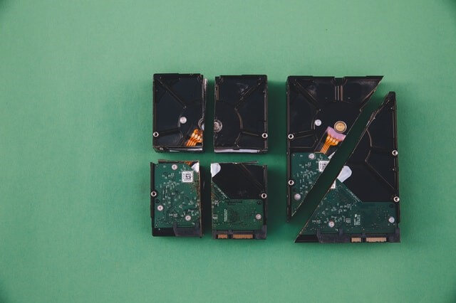 How much are scrap hard drives worth?