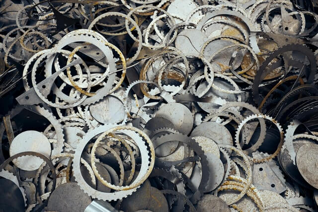 The practical reason for selling metal scrap
